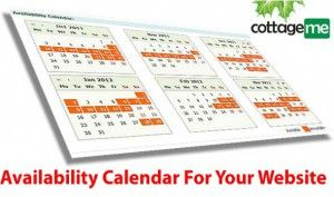 Cottage Rentals Availability Calendar for your website in 5 minutes. March 20, 2013 ·