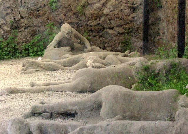 Garden of the Fugitives, Pompei, Italy