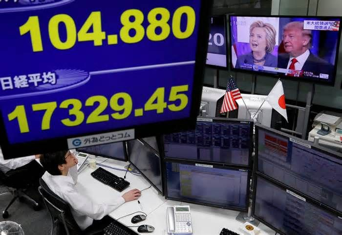 Global Markets Plummet on Rising Odds of Trump Victory #global #markets #plummet #rising #trump #victory