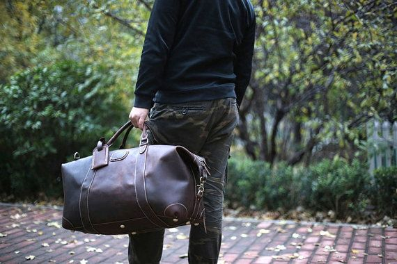 leather duffel bag, mens duffel bag, overnight bag, travel bag, mens briefcase, mens handbag, womens handbag, womens travel bag, womens duffel bag, shoulder bag, christmas gift, gift for her, gift for him
