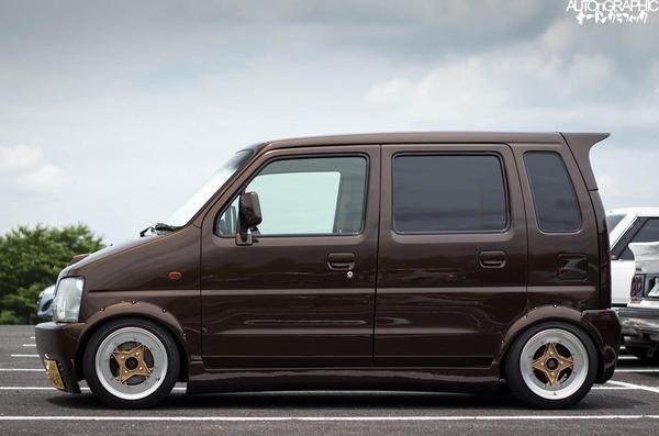 Image result for Suzuki Wagon R camper van