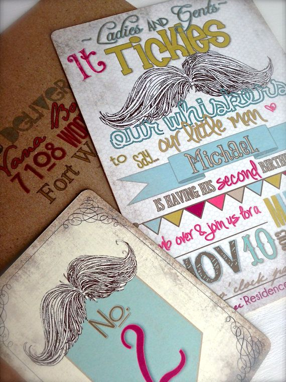 The 25 best Mustache party invitations ideas – Little Man Mustache Party Invitations