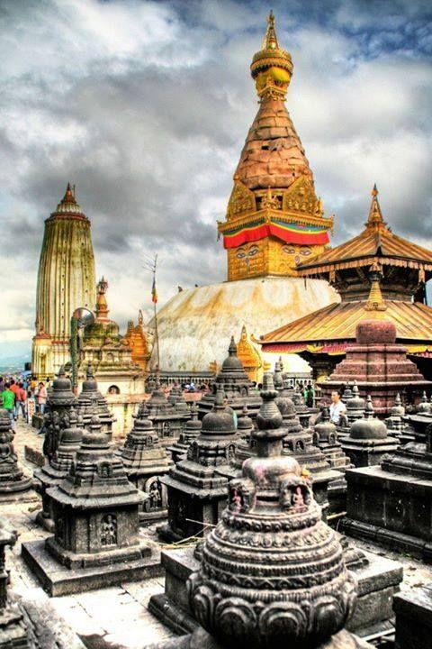Swayambhunath Stupa #Kathmandu #Nepal