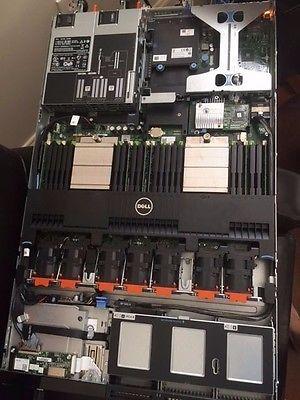 Dell PowerEdge R620 DUAL Quad Core 2.4GHZ E5-2690 2X300GB 10K SAS 12GB RAM