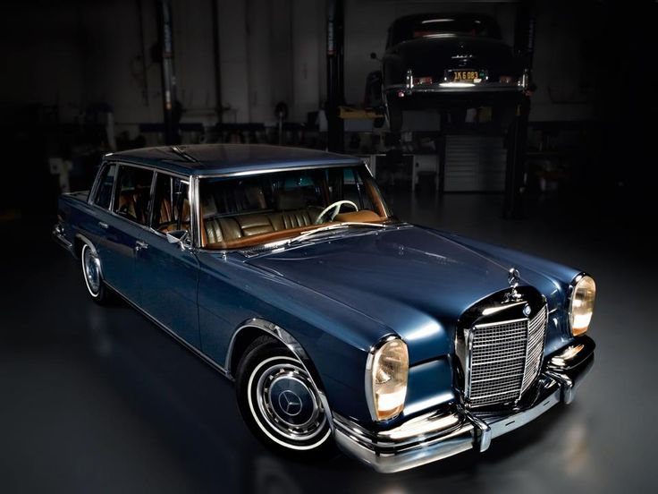 Armored 1969 Mercedes-Benz 600 SWB.
