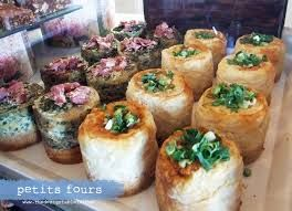 Pop into Petits Fours today