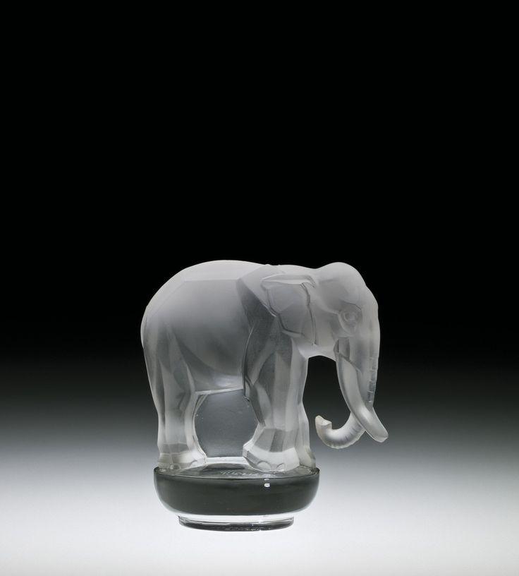 Toby, Éléphant, René #Lalique, France, designed in 1931 | Corning Museum of #Glass