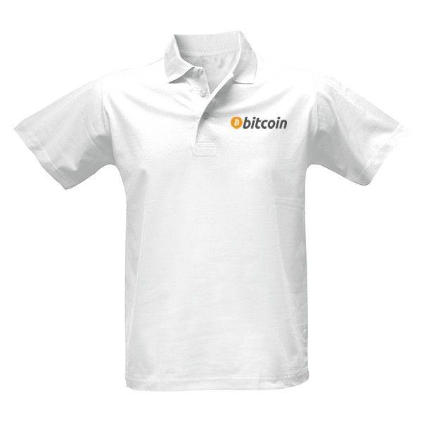 Tričko s potiskem bitcoin košile