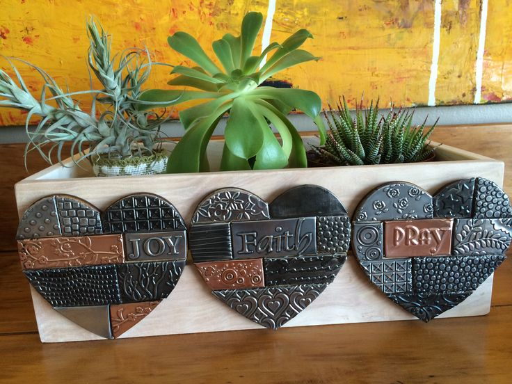 Pewter Mosaic Style. Made by Lee @ The Pewter Room