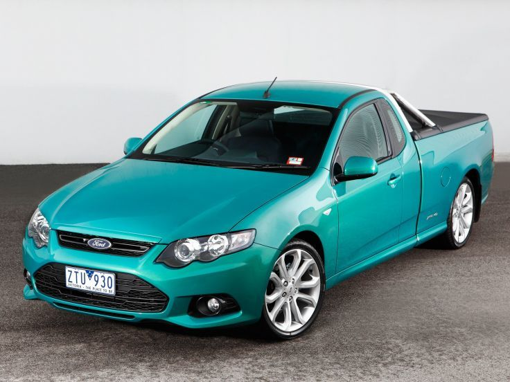 2011 Ford Falcon XR6 Ute (F-G) pickup (2) wallpaper background