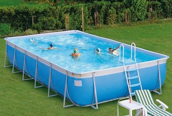 - Piscina fuori terra Futura TechnyPools -  Progettate al computer le piscine fuori terra Futura sono al top della gamma.  #piscina #fuoriterra #giardino