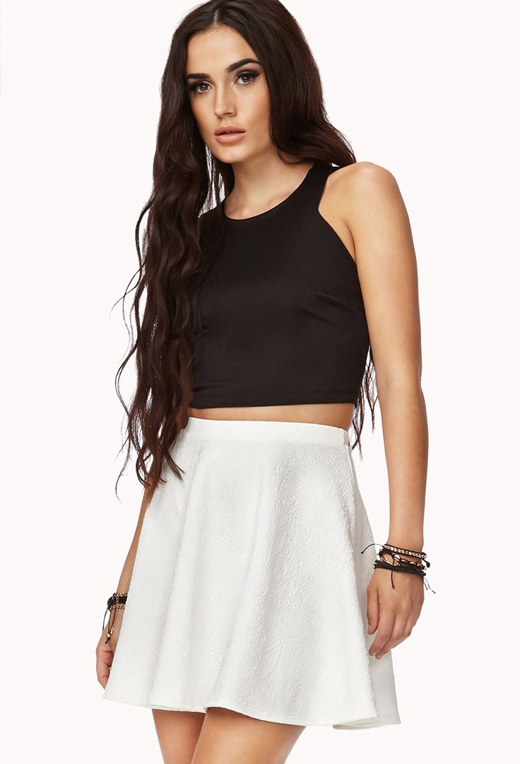 Ok girls! I just bought this skirt in a really light blue color and fell in love with it! Me mum thought it was hideous so now I'm kinda conflicted wether its cute or not:/ can I please get some opinions? Would help a lot!!!!!!-Ashley