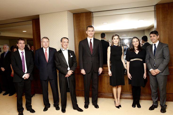 Don Felipe y doña Letizia presidieron en el Auditorio de Madrid el XIV Concierto homenaje a las víctimas del terrorismo. 11.03.20