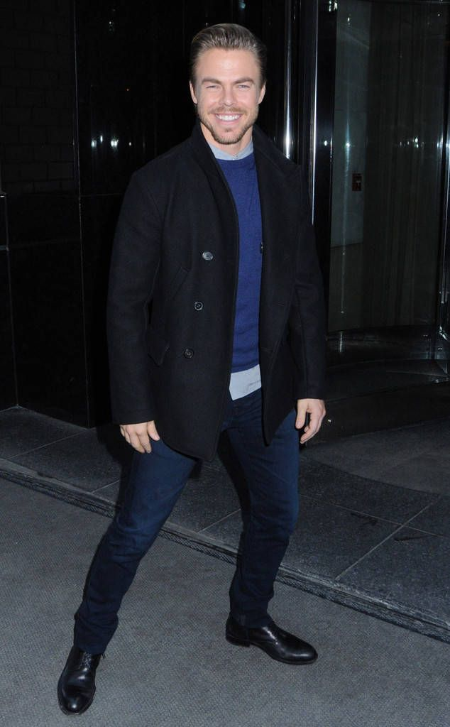 Derek Hough from The Big Picture: Today's Hot Photos  The professional danceris stopped for a photo op on the streets of NYC.