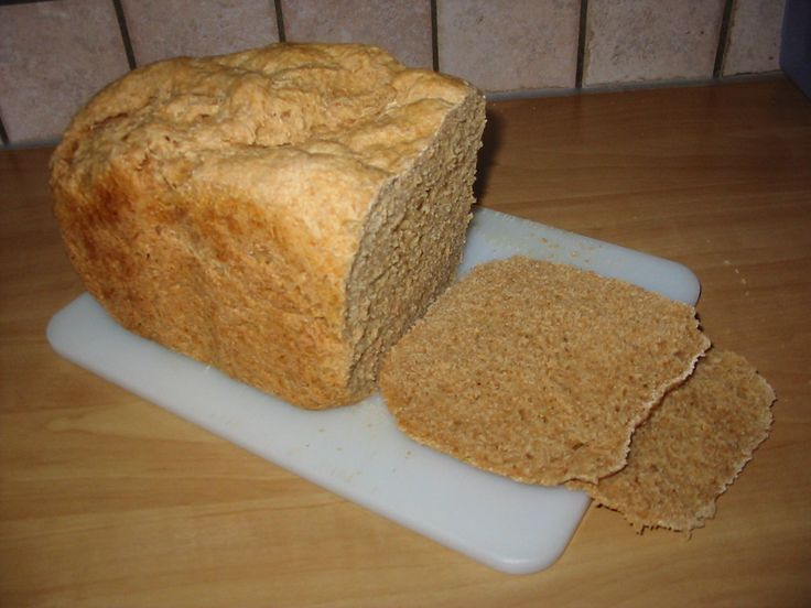 Bakken (en koken) zonder E-nummers: Speltbrood (broodbakmachine)