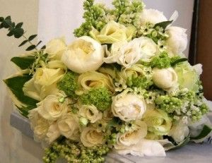 Cream and Green Wedding Flowers - The Wedding SpecialistsThe Wedding Specialists
