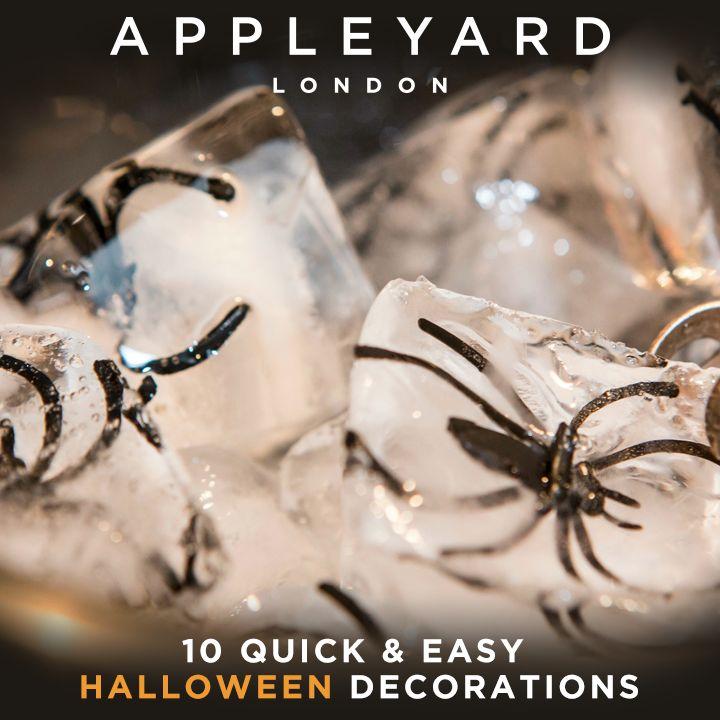 10 Quick & Easy Halloween Decorations
