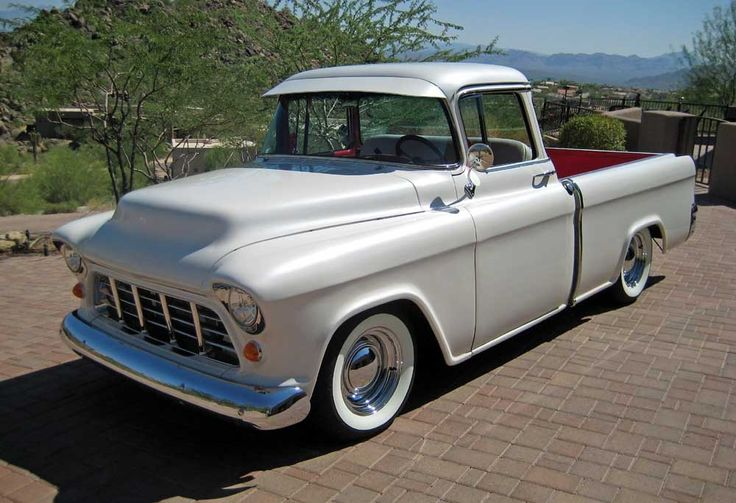 1955 Chevy Truck 1955 Chevrolet Cameo Pickup 55 59