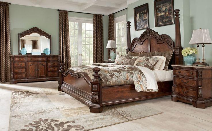 ashley bedroom furniture millenium collection - interior bedroom paint ideas