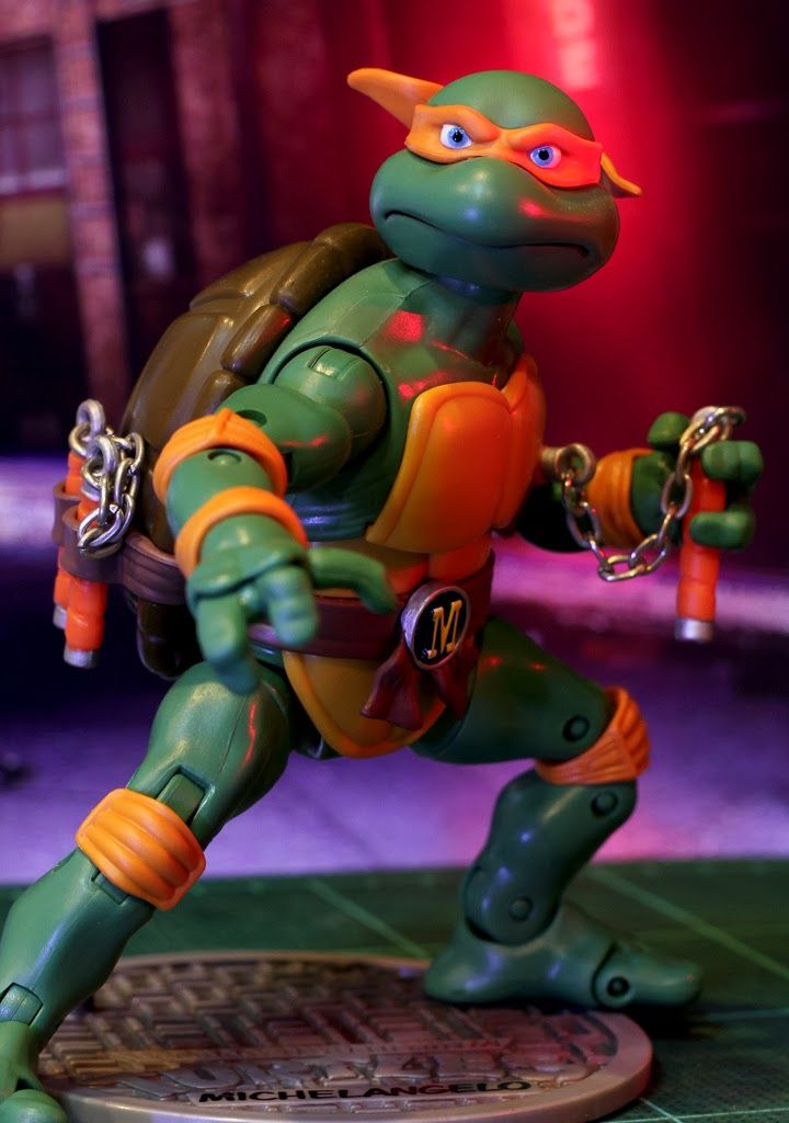 KKB's HOBBY DIARY: Michael Angelo TMNT Classic (Playmates Toys)