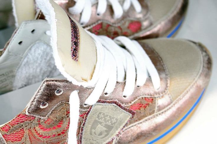 Women's trainers by Philippe Model Paris.
