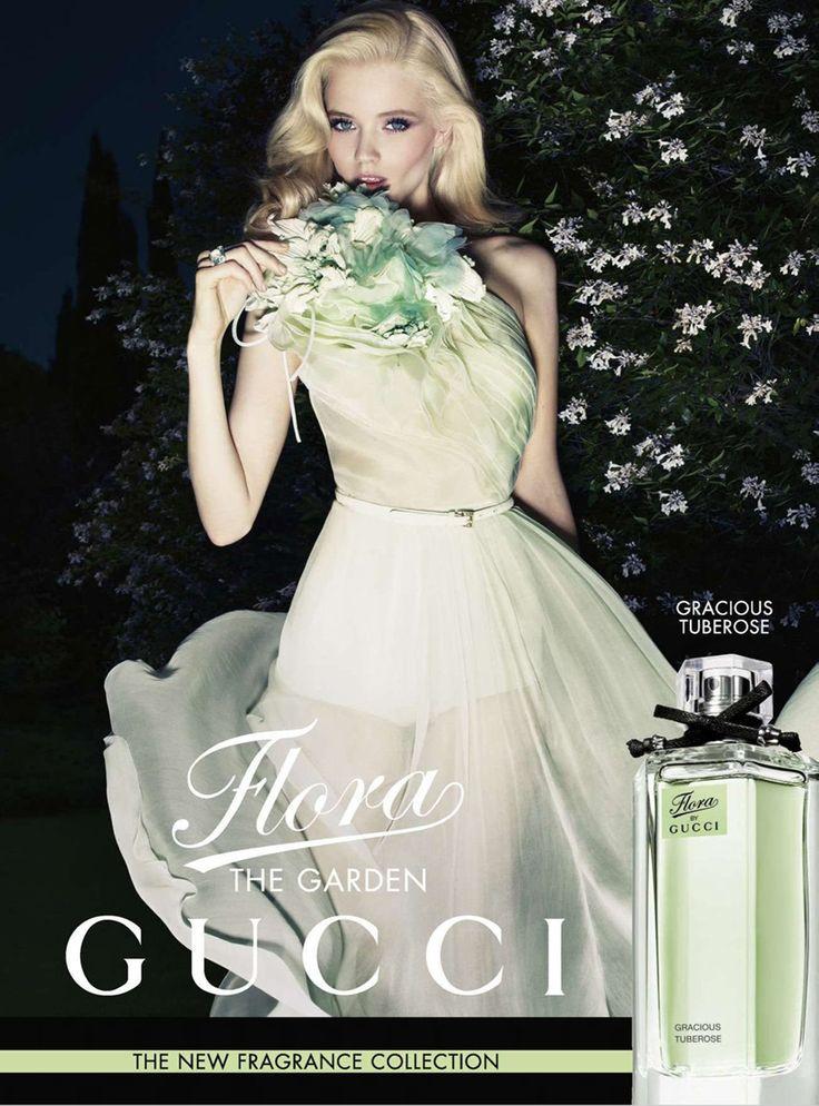 Flora Gucci, love the pastels