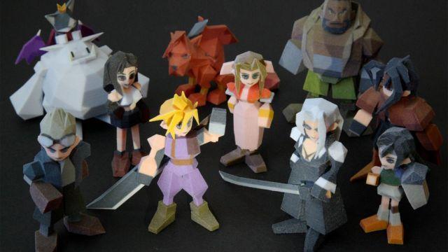 『ファイナルファンタジーVII』のキャラクターを3Dプリンタで作ってみた
