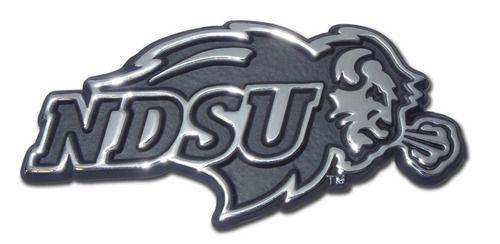 North Dakota State University Chrome Car Emblem