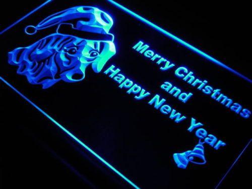 Dachshund Dog Christmas Bell Pet Neon Light Sign
