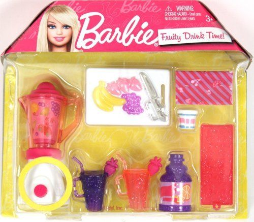 barbie accessory pack fruity drink time by barbie who 39 s hungry for tasty smoothies. Black Bedroom Furniture Sets. Home Design Ideas