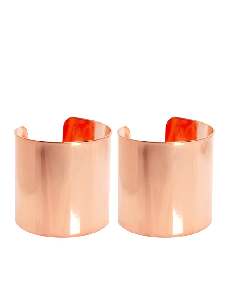 Rose Gold Double Cuff #win