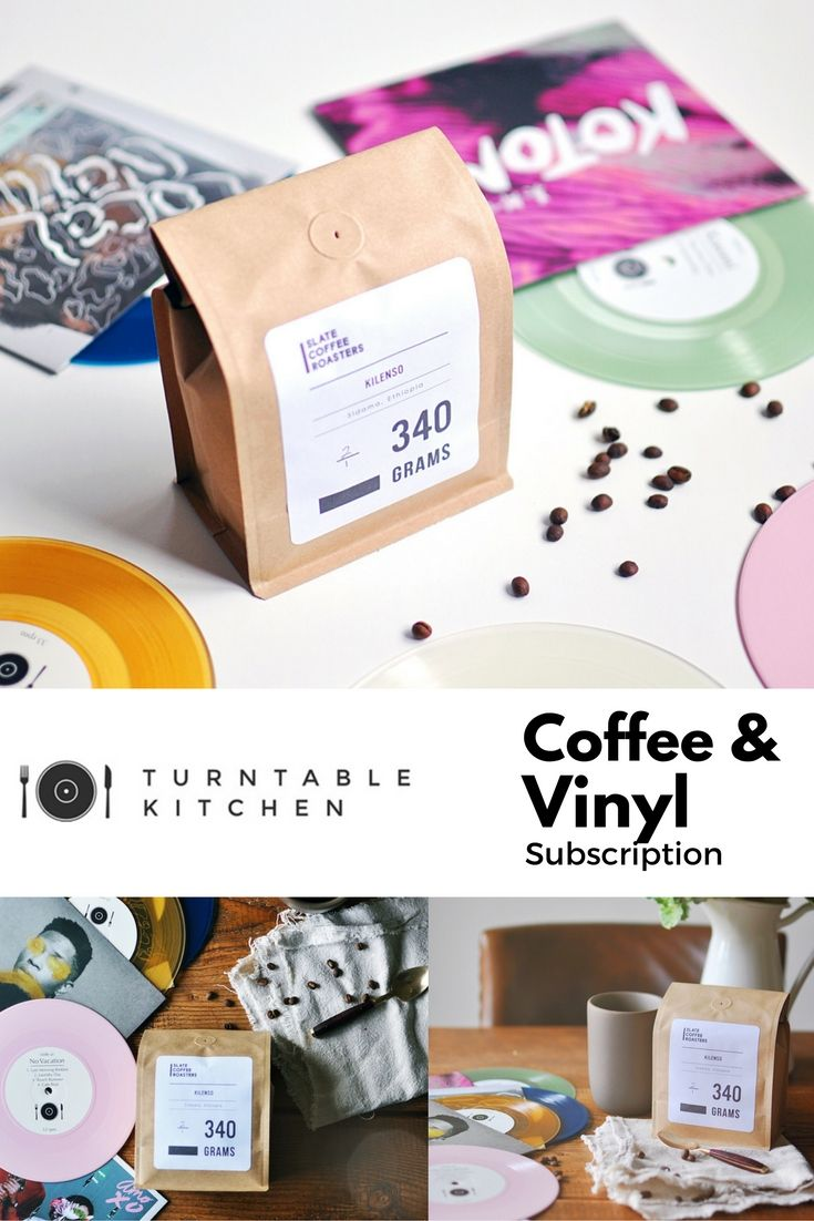 Turntable Kitchen offers the only Coffee subscription service that comes with limited edition vinyl: artists like Gallant, Lucius, and Local Natives