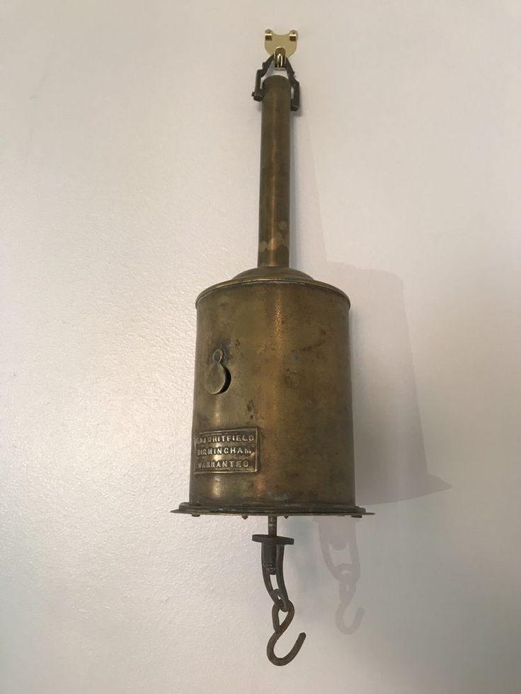 "Antique, Vintage ""E&J Whitfield Warranted"" Brass roasting Spit Jack Victorian  | eBay"