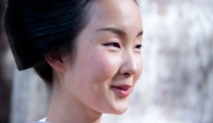 Our muse Kyoka-san, a maiko (geisha in training) with no face makeup on and no retouching