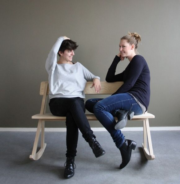 WIPP ROCKING BENCH BY ANNA QUENTIN