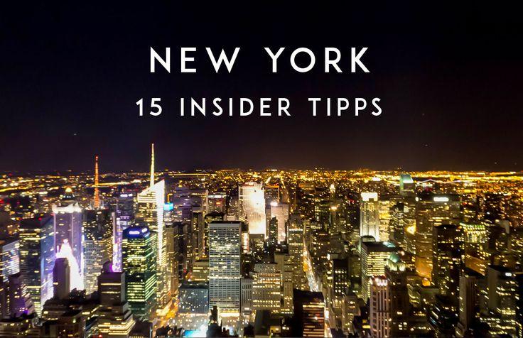 15 Insider Tipps New York - Orte die du in keinem Reiseführer findest !