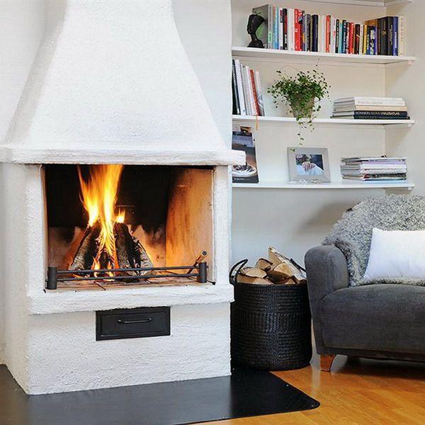 17 Best Ideas About Scandinavian Fireplace On Pinterest