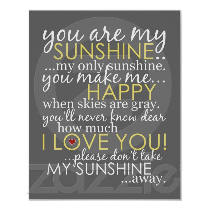 You are my sunshine!: Little Girls, Canvas Prints, Quote, Songs, Baby Girls, Daughters, Kids, Book Jackets,  Dust Wrappers