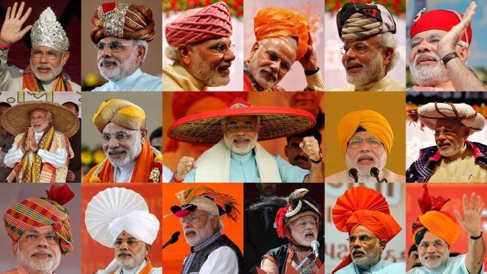 Narendra Modi has already won in India... in the fashion race / Quartz | #india