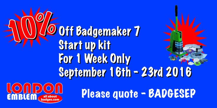 Our latest offer starting tomorrow!