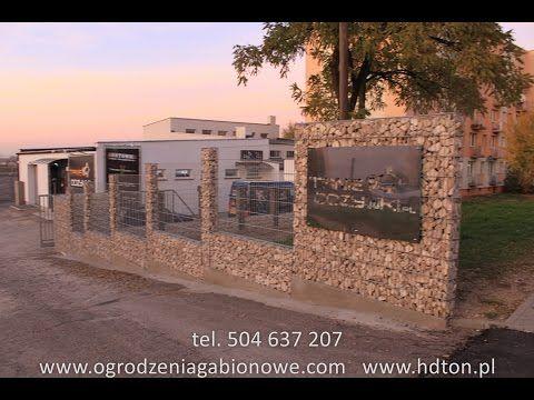 Ogrodzenia Gabionowe, Panele, Grille Gabionowe, Doniczki Gabionowe, Ławki Gabionowe, Gabion, Grill - YouTube