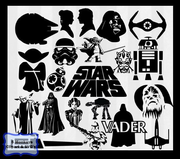 20+ parasta ideaa pinterestissä: star wars logo vector