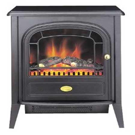 Dimplex Club LED Freestanding Fire 2kw Black CLB20LED