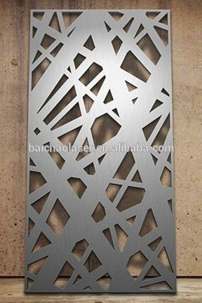 Metal Fence Panels Decorative Aluminum Garden Panel Laser Cutting , Find…