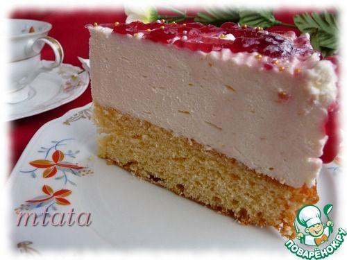 Вишнево-лаймовый торт - кулинарный рецепт