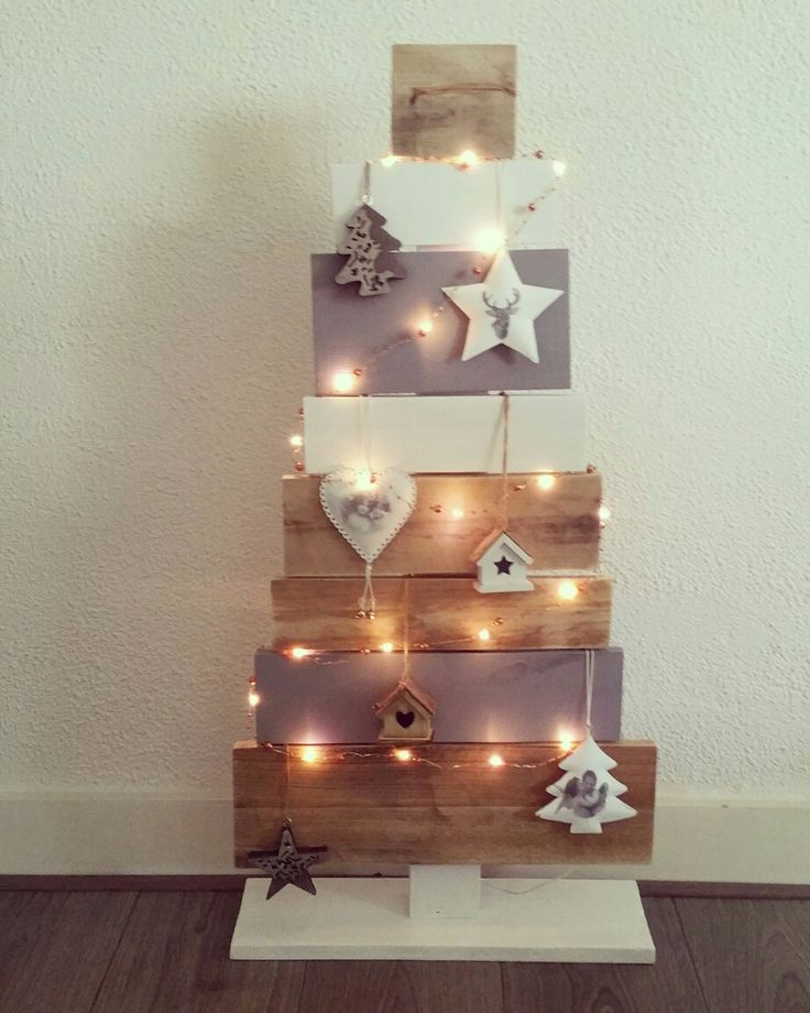 Diy/kerstboom/pallet