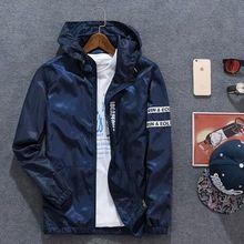 Aliexpress venta directa de Fábrica de nueva primavera verano 2017 hombres ocasionales con capucha camuflaje chaqueta de china barato al por mayor(China (Mainland))