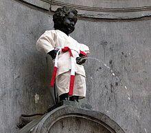 Manneken Pis - Wikipedia, the free encyclopedia
