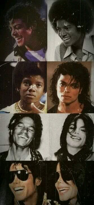 Younger, older, laughing or serious, present or absent....You will never be forgotten!  RIP - MJ