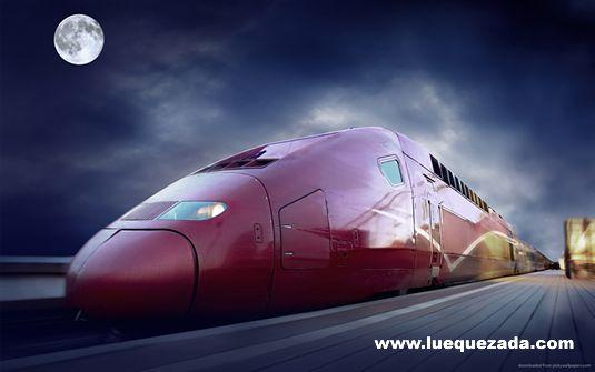 El éxito es como un tren, todos los días pasa pero si no te subes tú se subirá otro.